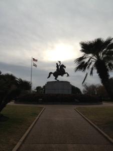 Andrew Jackson rides again!
