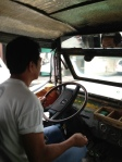 Jeepney driver... no tickets, just taking cash and giving change all while driving.